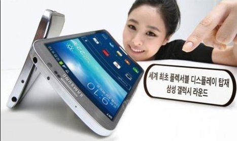 Samsung promises foldable display devices by 2015, tries to make 'fonblet' a thing | Mobile (Post-PC) in Higher Education | Scoop.it