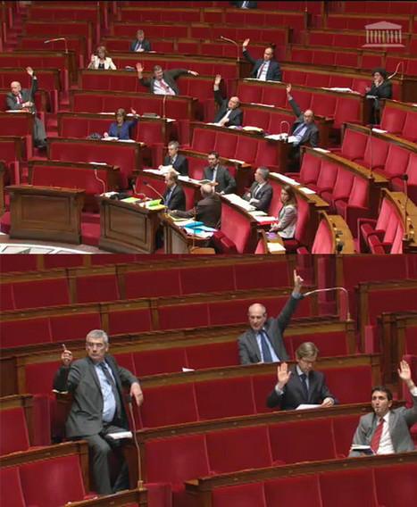 Présence des députés lors des votes : grave recul à l'Assemblée contre la transparence des délégations | Libertés Numériques | Scoop.it