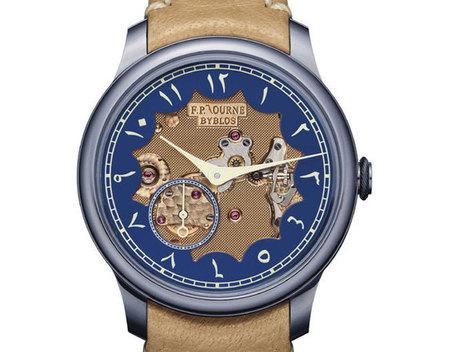 F.P. Journe : un Chronomètre Bleu Byblos vendu 149.000 dollars | Montre, Horlogerie,Chronos | Scoop.it