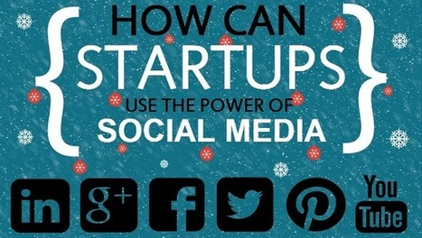 Visualistan: How Can Startups Use The Power Of Social Media [Infographic] | Social Media | Scoop.it