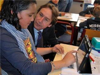 Digitalisering onderwijs op De Pionier - Dichtbij.nl | Verzorgingsstaat janniek | Scoop.it