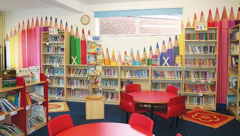 Ideias e dicas de decoração para a biblioteca escolar e infantil | Banco de Aulas | Scoop.it
