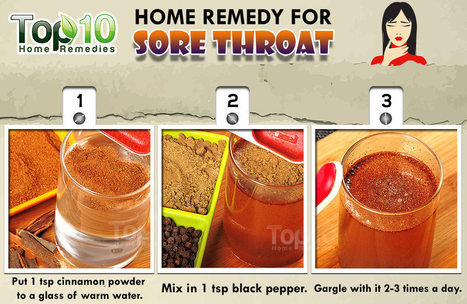 Use Cinnamon Powder to Treat Sore Throat | Making Your Own Home Remedies | Scoop.it