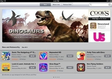 Dinosaur Apps Get a Featured Section in the iPad App Store This Week — iPad Insight | ipadseducation | Scoop.it