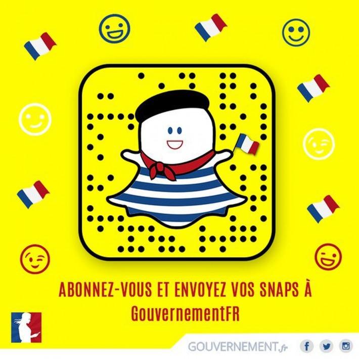 Pourquoi gouvernement.fr a décidé d'aller sur Snapchat (et quelles leçons nous en tirons) | Médias sociaux : Conseils, Astuces et stratégies | Scoop.it
