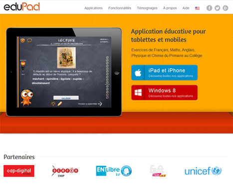 Applications éducatives Edupad | | ASF BREIZH - Action Soutien Formation | Scoop.it