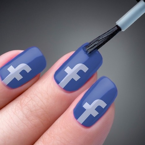 Facebook Sells 'Social Butterfly Blue' Nail Polish   It's Show Prep for Radio   Scoop.it