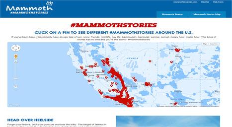 Partager son expérience & affirmer son attachement à une destination: l'exemple de Mammoth. | Médias sociaux et tourisme | Scoop.it