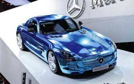 La Mercedes SLS AMG Electric Drive | Voiture Electrique | Action Durable | Scoop.it