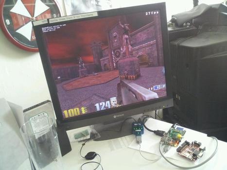 Wow - the @Raspberry_Pi runs Quake III *really* well. | Raspberry Pi | Scoop.it