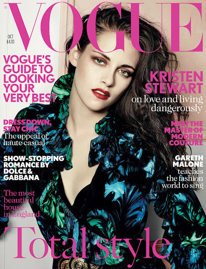 Kristen Stewartf or Vogue UK October 2012 - Ellicson's fashion blog ... | Ibiza Rome | Scoop.it
