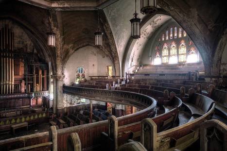 Church in Detroit [2205x1471] | Rebrn.com | Modern Ruins | Scoop.it