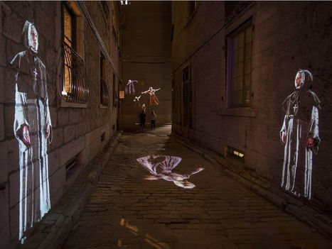Cité Mémoire makes history in Old Montreal | Lighting in history | Scoop.it