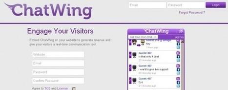 ChatWing, la herramienta de chat para integrar en cualquier blog o sitio web | Educando con TIC | Scoop.it