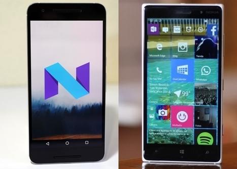 Android vs Windows Mobile, ¿qué sistema operativo es mejor hoy en día? | Mobile Technology | Scoop.it