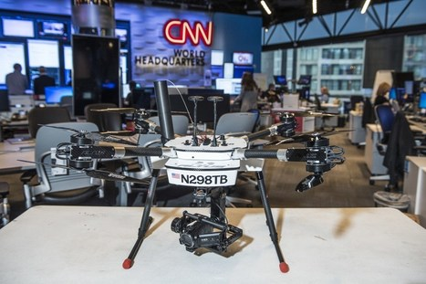CNN just launched a new drone division. Here's what they plan to do with it. | Multimedia Journalism | Scoop.it