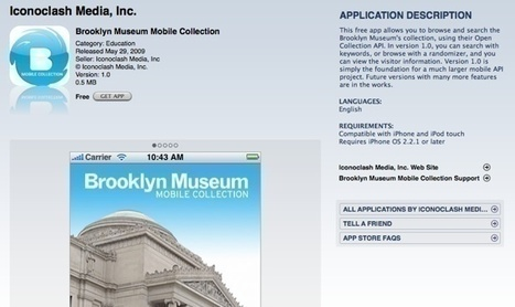 Brooklyn Museum Collection API: Using Technology to Enhance User ... | Museums Around the World | Scoop.it