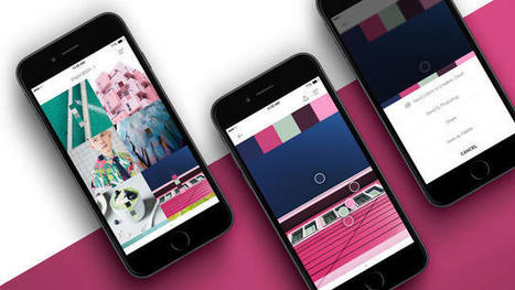 Pantone's Addictive New App Turns The World Into A Prismatic Palette | Communication design | Scoop.it
