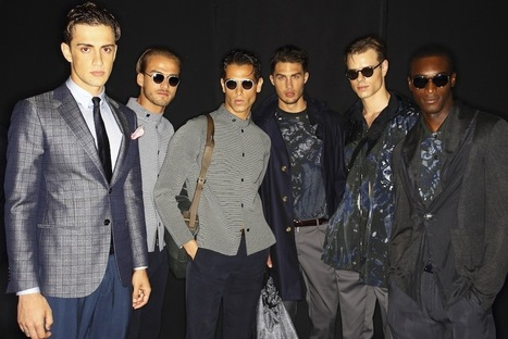Photo Diary | Milan Men's Fashion Week, Day 4: Giorgio Armani ... | Ibiza Rome | Scoop.it