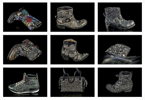 Luxury by Giancarlo Paoli: studs & rock inspired shoes + bags for the Fall Winter 2014 | Le Marche & Fashion | Scoop.it