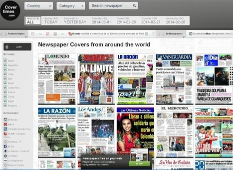ConverTimes: Lee la portada de los diarios del mundo en un solo lugar | Gustavo Martínez Blog´s | Herramientas 2.0 | Scoop.it