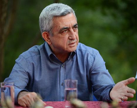 Prezydent Armenii popiera Alijewa w wyborach prezydenckich | Wybory prezydenckie w Azerbejdżanie 2013 | Scoop.it