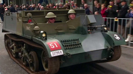​Australian parade marks World War I centenary - RT | Centenary of World War 1 | Scoop.it