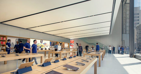 Apple's New SF Store Showcases Jony Ive's Design Vision | CLOVER ENTERPRISES ''THE ENTERTAINMENT OF CHOICE'' | Scoop.it