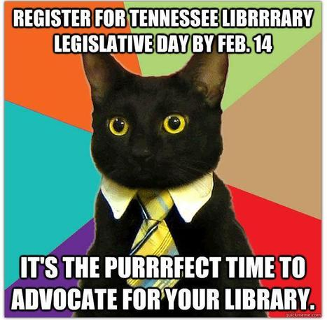 Tennessee Library Legislation Day 2013 Registration Closing Today | Tennessee Libraries | Scoop.it