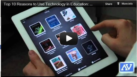 Teaching and Developing online: Top 10 Reasons to Use Technology in Education: iPad, Tablet, Computer, Listening Centers | iPads, MakerEd and More  in Education | Scoop.it