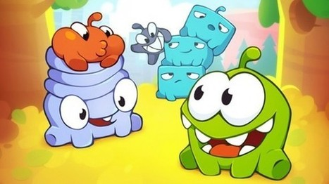 Hands-on: Cut the Rope 2 for iOS brings new challenges, friends, and candy - Macworld (blog) | iPhones and iThings | Scoop.it