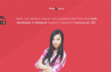 Conseils et inspirations pour votre portfolio | WebdesignerTrends ... | Web-Design | Scoop.it