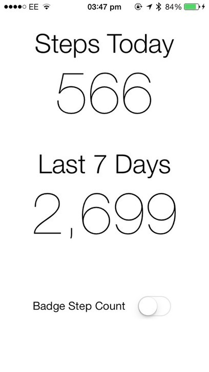 Pedometer++ Offers A Super Simple Pedometer For iPhone 5s Users | iPads in Education Daily | Scoop.it