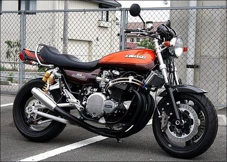 Kawasaki Z900 special 1100cc powered | Vintage Motorbikes | Scoop.it