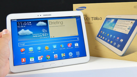 Android Tablet Review - Samsung Galaxy Tab 3 10.1 | Ras Android | Review of Android Gadget | Scoop.it