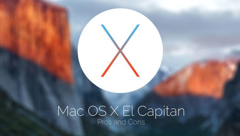 Pros And Cons Of Mac OS X El Capitan | Posts | Scoop.it