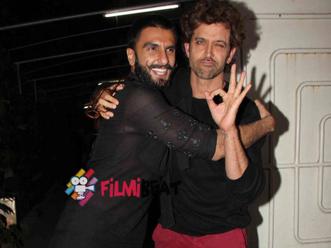 Bajirao Mastani Screening Pictures: Ranveer-Deepika's Cute Moments With Hrithik,Shahid-Mira & Others | Celebrity Entertainment News | Scoop.it
