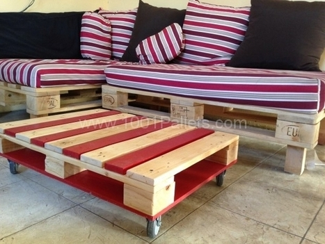 Pallet Coffee Table | 1001 Pallets | Posters | Scoop.it