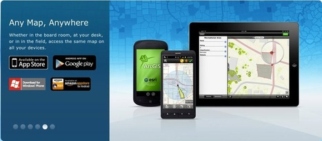 New versions of ArcGIS for iOS, Android and Windows Phone released! | ArcGIS Resource Center | Agronegócio | Scoop.it