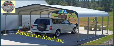 Carports | American Steel Inc | Metal Buildings | Scoop.it
