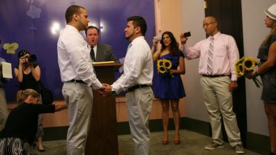 Gay Latinos Make Marriage History in New York City - Fox News | mexicanismos | Scoop.it