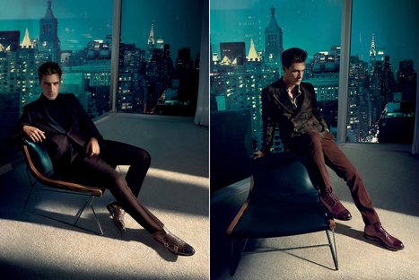 Santoni Fall/Winter 2014 Campaign | Le Marche & Fashion | Scoop.it