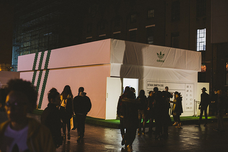 Focus sur l'expérience interactive du pop-up store Adidas // Stan Smith | La Minute Retail | Office, Retail & Design | Scoop.it