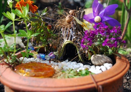 Make a Fairy Garden | Kids Crafts | Scoop.it