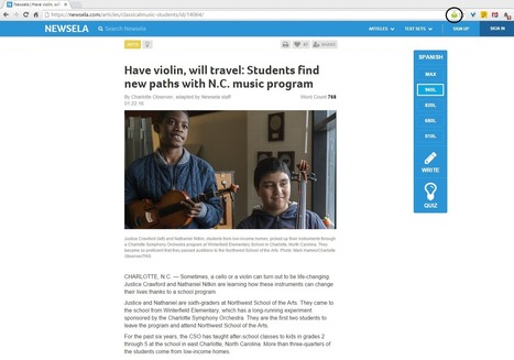 Using Fluency Tutor for Google with NewsELA :: Alice Keeler | On education | Scoop.it