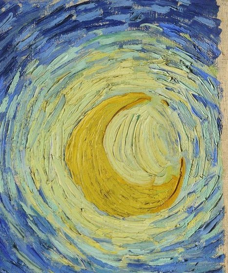 Incredibly Detailed Close-Ups of Van Gogh's Masterpieces | Harmony Design, Art, and Science | Scoop.it