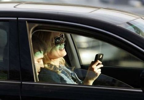 Can't stop texting and driving? These apps can help | Government & Law! | Scoop.it