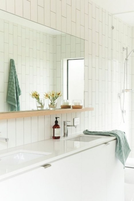 29 Functional And Stylish Bathroom Mirrors   DigsDigs   Designing Interiors   Scoop.it