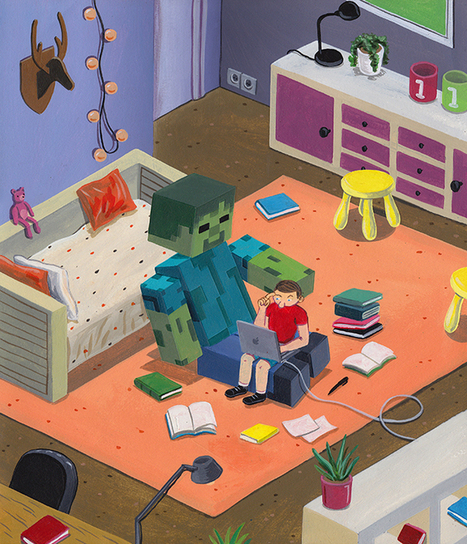 How Videogames Like Minecraft Actually Help Kids Learn to Read | WIRED | SMUSD Share | Scoop.it
