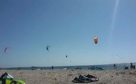 Portoscuso, a Punta s'Aliga il paradiso per gli amanti del kitesurf - Sport - L'Unione Sarda.it | alConteCavour | Scoop.it